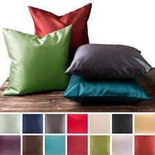 2 Piece Euro Shams Cover Case Decorative Pillow Zippered Closure Many More Color