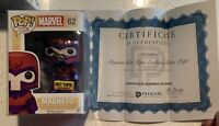 Marvel Magneto Bobble Head Funko Pop Signed by Stan Lee w/COA Hot Topic Excl.