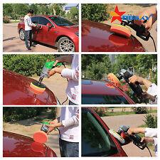 "7pcs(3"" car polishing buffer pad set + drill adapter for polish valeting waxing)"