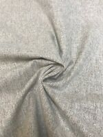 MARK & SPENCER / NEXT BROWN CHENILLE UPHOLSTERY FABRIC 2 METRES