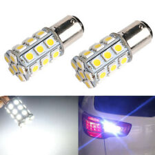 1Pair 1157 Warm White 15D P21/5W 27SMD 5050 Car LED Tail Brake Light Bulb Lamp