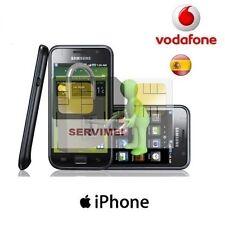 LIBERAR   iPhone  VODAFONE  ESPAÑA 3,3G,3GS,4,4S.5,5S,5C, 6, 6+ 7 + 8  X...