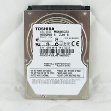 "TOSHIBA 500GB 6GB/S 5400RPM 2.5"" HDD LAPTOP Hard Disk Drive MK5065GSX"