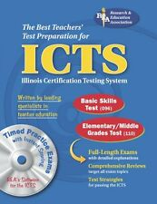 ICTS (REA) w/CD ROM - The Best Test Prep for the I