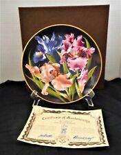 "Anna Perenna Inc ""The Flowers Of Count Lennart Bernadotte"" Collectors Plate"