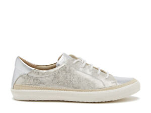 Chatham MARGOT - Ladies Fabric Trainer Womens Casual Shoes Ice Silver RRP 59