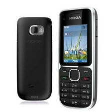 Nokia C series C2-01 3G CDMA GSM Bluetooth Bar Mobile Phone Unlocked Black