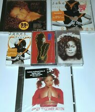 JANET JACKSON 3 CASSETTE TAPE 3 CD SEALED TOGETHER AGAIN RUNAWAY R&B SOUL CD lp