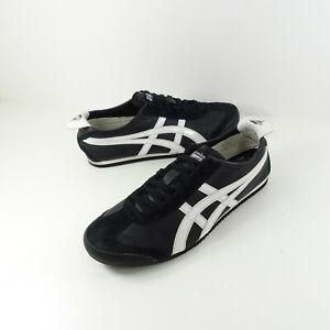 Asics Onitsuka Tiger Mexico 66 Mens Size 10.5 Black White Viper Casual Shoes