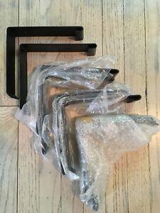8 Heavy Duty Steel Countertop Support Brackets Shelf Brackets