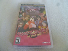 BRAND NEW SEALED PSP VIDEO GAME SWEET FUSE AT YOUR SIDE AKSYS GAMES RARE ANIME >