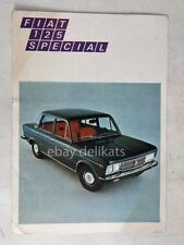 FIAT 125 SPECIAL vecchia cartolina lotteria SELAS auto car