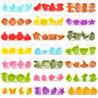 New Series Cake Fondant Sugarcraft Cookies Decorating Plunger Cutter Moulds UK