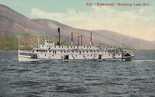 "S.S. ""Kuskanook,"" Kootenay Lake,B.C.,Canada , 00-10s"