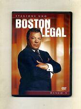 BOSTON LEGAL - STAGIONE UNO - DISCO 5 # 20thfox - Fox Video DVD-Video 2007