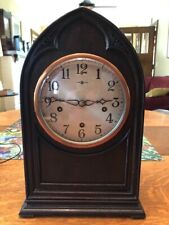 """Restored New Haven """"Englewood"""" Model Westminster Chime clock"""