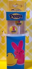 Peeps Ear Buds for a Cell Phone Accessory Pink Bunnies Yellow Background