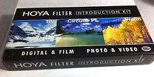 Hoya 52mm Digital Filter Kit UV + CPL Circular Polarizer PL + Warming Warm Set