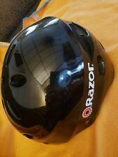 Razor V17 Youth Bike Helmet - Black Size Small