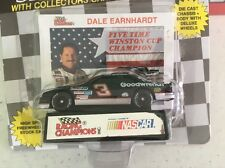 New. Dale Earnhardt #3 W/Collectors Card & Stand. Racing Champions