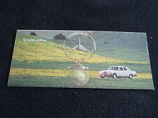 1977 Mercedes Benz Catalog 280 280SE 450SEL 450SL 450SLC 450 SEL SL SLC Brochure
