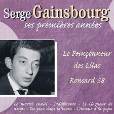 CD Serge Gainsbourg - ses premières années