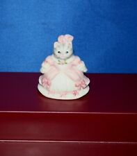 "Vintage ""Kitty Cucumber Cinderella� Porcelain Thimble"