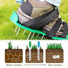 Lawn Aerator Shoes Sandals Heavy Duty Spike Grass Garden Gardening Yard Outdoor