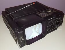 Sears Go-Anywhere Vintage Television Set Portable Tv Radio