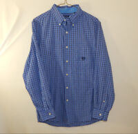 Ralph Lauren Chaps Mens Long Sleeve Oxford Button Down Dress Shirt Size SMALL S