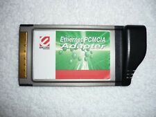 Ethernet PCMCIA Adapter Card Bus RJ-54 Loptop Adaptor Excellent W Condition