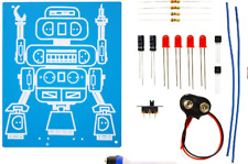 K-5117 LED ROBOT BLINKER DIY KIT solder version - A good classroom STEM project