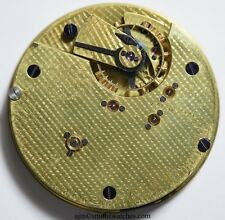 THOMAS RUSSELL & SON ENGLISH LEVER GOING BARREL POCKET WATCH MOVEMENT  46A
