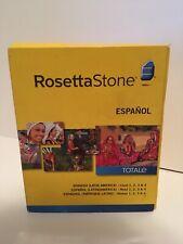 rosetta stone spanish/ Español Level 1-4 Totale