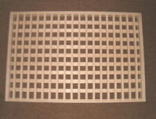 MADE TO YOUR SIZE LARGE WOOD FLUSH MOUNT FLOOR GRATE  WALL REGISTER FLOOR VENT
