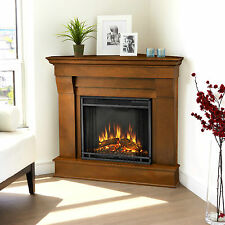 RealFlame Chateau Electric Fireplace Heater Corner Unit 3 Colors