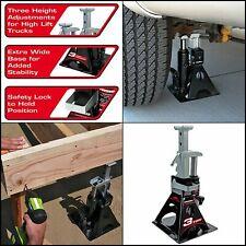 3 Ton Bottle Jack Car Truck Repairs Mechanic Automotive Tools Manual Lift Stand