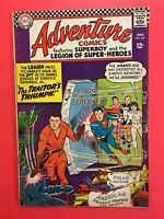 ADVENTURE COMICS #347 featuring SUPERBOY & the LEGION OF SUPER-HEROES!  DC 1966