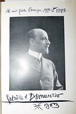 Benigno Palmerio: Con D'Annunzio alla Capponcina 1938 Vallecchi 1a prima ediz.