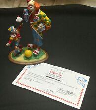 danbury mint barnum's classic clowns cheer up 1993 figurine