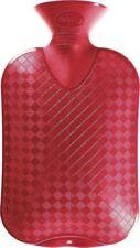 Fashy Wärmflasche 2,0 L glatte Ausführung, Farbe cranberry