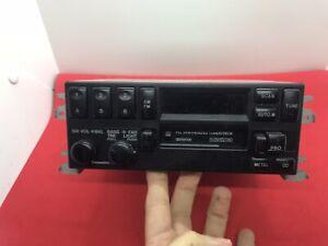 Rare 90-93 MAZDA 323 AM/FM RADIO CASSETTE PLAYER PANASONIC OEM BR73 66 AC0A