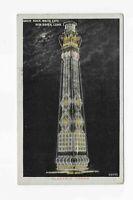VTG. Postcard *ELEC TOWER *SAVIN ROCK *WHITE CITY *NEW HAVEN CT *AMUSEMENT PARK