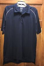 Mens Adidas ClimaCool S/S Polo/Golf Shirt Size Medium (M) Navy Blue