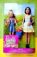 🍏Mattel Barbie Sweet Orchard Farm Skipper & Stacie Sister Dolls Set*Sold out*🍏