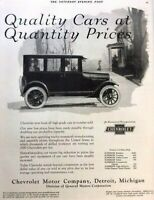 1924 Chevrolet Automobile Vintage Advertisement Print Art Car Ad Poster LG74