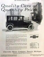 1924 Chevrolet Automobile Vintage Advertisement Print Art Car Ad Poster LG74