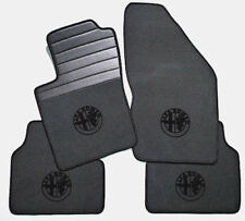 Gray velours floormats for Alfa Romeo 155  1982-1997