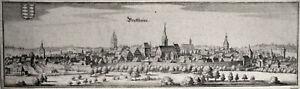 Brettheim, Baden-Württemberg, Kupferstich um 1655