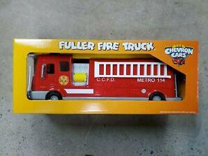 2008 Chevron Cars Fuller Fire Truck Brand New | Factory Sealed